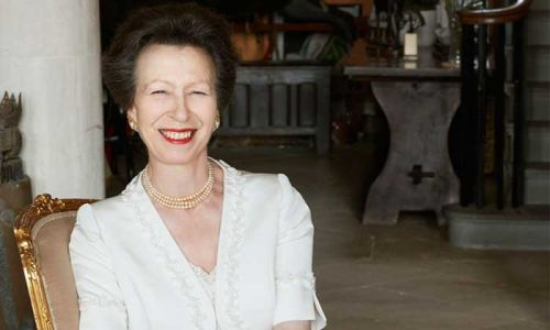 Stunning portraits of Princess Anne released to mark 70th birthday