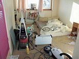 Junk-filled house strewn with clothes, rubbish, toys goes up for sale on Rightmove for £210,000