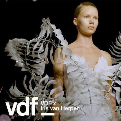 """""""The Infinity dress is the most difficult I have ever made"""" says Iris van Herpen"""