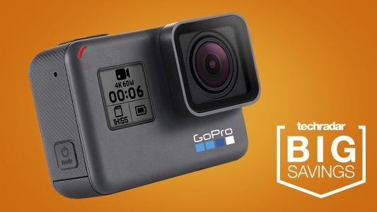 Today only, snag a 20% discount on the GoPro Hero 8 Black
