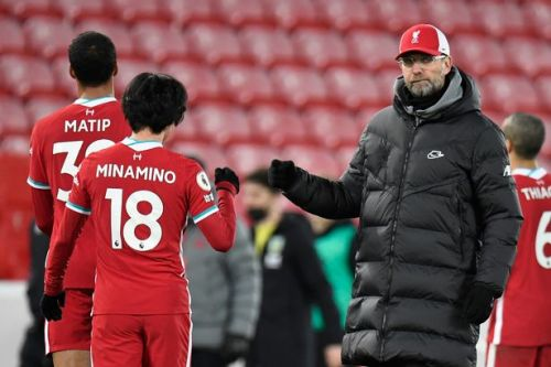 Klopp comes off worse in Dyche spat as Liverpool boss looks to have lost spark
