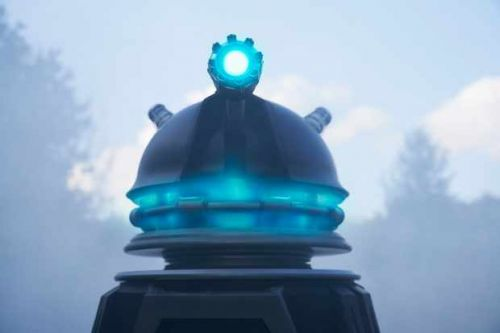 """Are the Daleks """"fake"""" in the Doctor Who festive special?"""