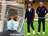 Mohamed Salah jokes he's made a new best friend in new Liverpool signing Kostas Tsimikas