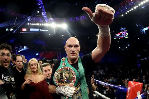 Tyson Fury sends message to Deontay Wilder on Instagram after beating heavyweight rival