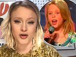 Zara Larsson looks unrecognisable in throwback clip as a 10-year-old on Sweden's Got Talent