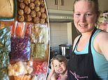 Mum share their EPIC meal prep of 300 dinners and lunches with just $125 worth of groceries