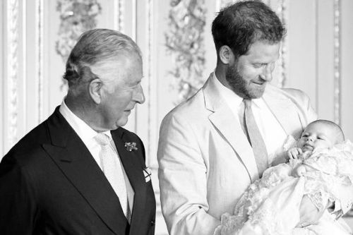 Prince Harry shares new photo of Archie to celebrate Charles's 71st birthday