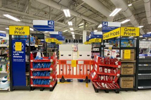 What is an essential item? List of items some supermarkets can and can't sell