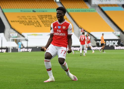 'I'm delighted for him' - Ian Wright sings Bukayo Saka's praises after Arsenal's victory over Wolves