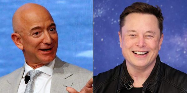 Elon Musk overtakes Jeff Bezos as the world's richest person thanks to Tesla's surging stock
