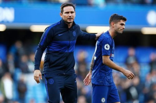 Chelsea boss Frank Lampard details extent of Christian Pulisic injury
