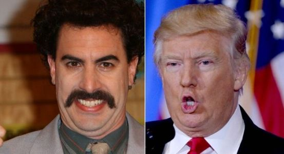 Trump Hits Out At Borat Creator Sacha Baron Cohen: 'He's A Creep'
