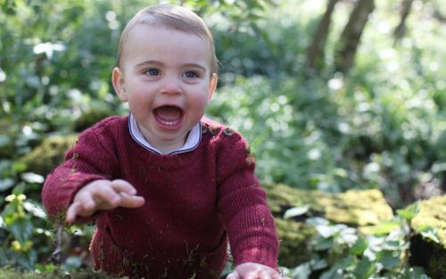 Prince Louis celebrates 1st birthday with new pictures taken by Duchess of Cambridge
