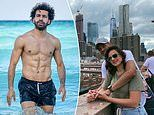Salah pulls off Daniel Craig impression on the beach. how the stars are enjoying their holidays