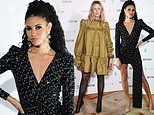 Vick Hope joins Edith Bowman at Vanity Fair BAFTA Rising Star party