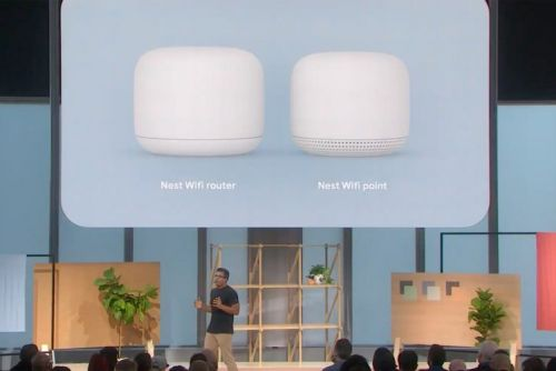 Nest Wifi is a mesh network, with added Google Assistant smarts