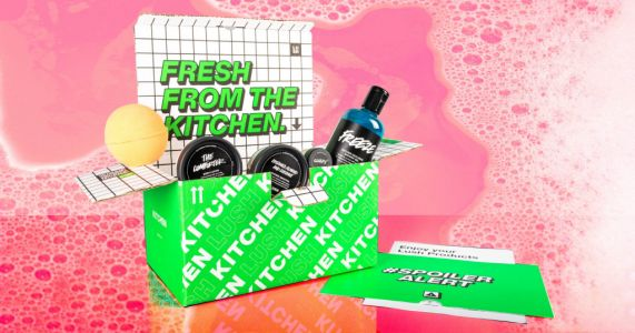 Lush launches first ever subscription box and it's filled with exclusive products