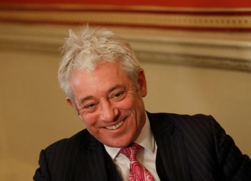 Labour Putting John Bercow Forward For A Peerage, Report Says