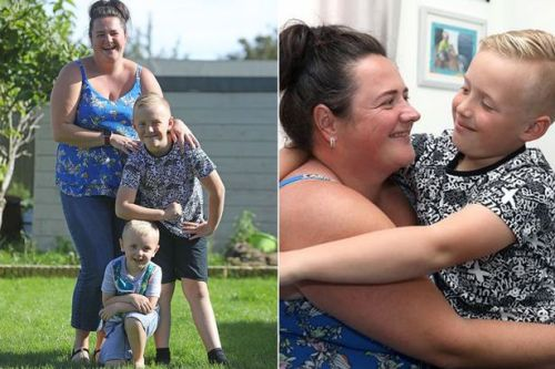 Heroic boy, 8, saves mum's life after she has allergic reaction to chocolate