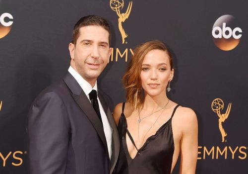 David Schwimmer and ex Zoe Buckman protest together for their daughter as 'fellow advocates for social justice and reform'
