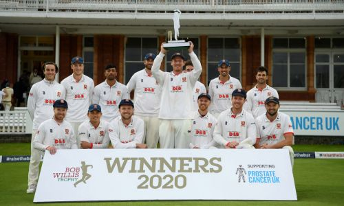 England legend Alastair Cook stars as Essex win Bob Willis Trophy