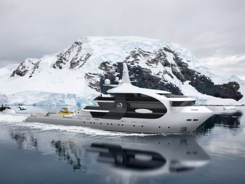 A new Italian yacht concept is designed to look like a killer whale and can handle Arctic exploration - and it highlights one of the biggest trends shaping luxury travel in the new decade
