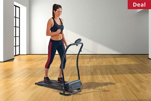 Get money off a BodyFit folding electric treadmill