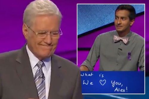 Jeopardy! contestant throws away $2k winnings in touching tribute to host Alex Trebek