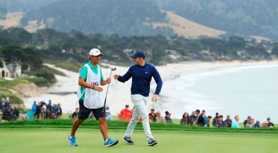 US Open LIVE: Updates as Rory McIlroy falters but Brooks Koepka hunts down leader Woodland at Pebble Beach