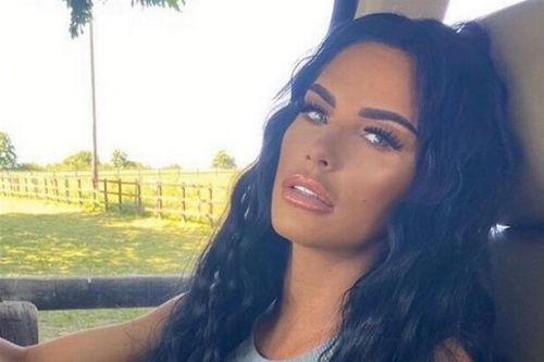 Katie Price beams in selfie with Jett and Bunny after confirming new romance