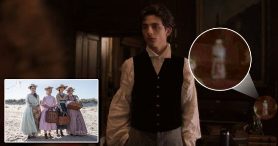 Little Women follows Game Of Thrones' coffee cup drama as fans spot water bottle in background