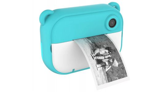 Instant Camera For Kids Prints Photos on Rolls of Cheap Thermal Paper
