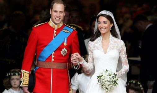 Prince William's secret message to Kate Middleton during royal wedding exposed