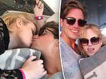Rebel Wilson shares a passionate kiss with new boyfriend Jacob Busch
