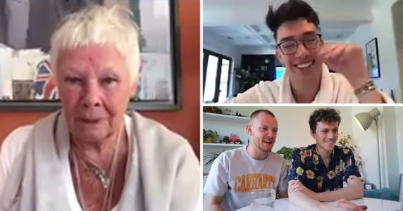 How YouTubers Zac and Jay filled their mates' Zoom call with celebs like Judi Dench and James Charles