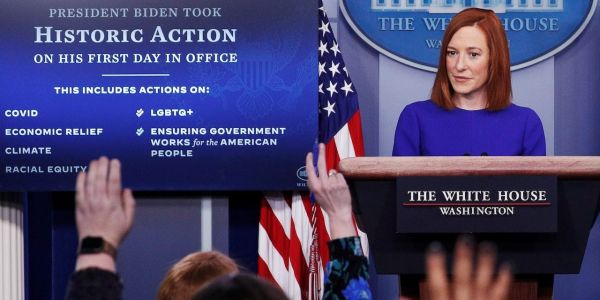 Biden's White House press secretary Jen Psaki promises to bring 'transparency and truth' back to the briefing room