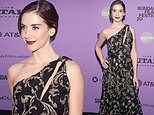 Alison Brie leaves little to the imagination in see-through look at Sundance premiere of Horse Girl