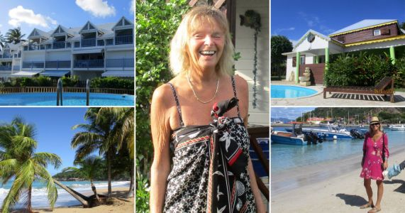 Woman, 61, affords two-month holiday in Caribbean by feeding chicken and weeding