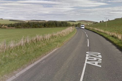 Pedestrian seriously injured in horror road crash in north east Scotland