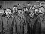 Images show US children as young as FOUR working in squalid and dangerous conditions a century ago