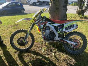 Off-road bike seized as police remind riders to be safe and responsible