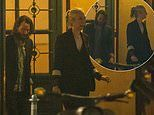 Keanu Reeves and girlfriend Alexandra Grant enjoy dinner in Berlin with the Matrix 4 cast
