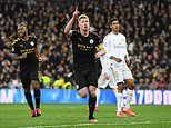 PLAYER RATINGS: De Bruyne and Jesus star while Carvajal struggles as Man City beat Real Madrid