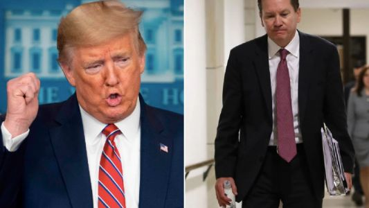 Donald Trump fires inspector general who played key role in impeachment inquiry