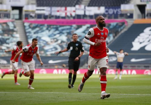 Ian Wright's brilliant reaction to Alexandre Lacazette's wondergoal against Spurs