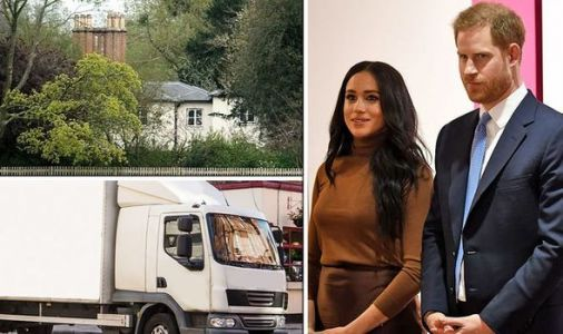 Meghan Markle and Prince Harry hire removal vans for big move to their new life in Canada