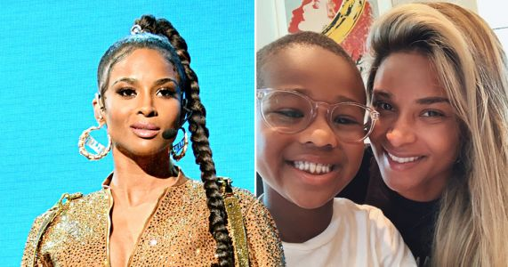Ciara prays for 'change' in emotional letter to son Future, six, amid George Floyd protests