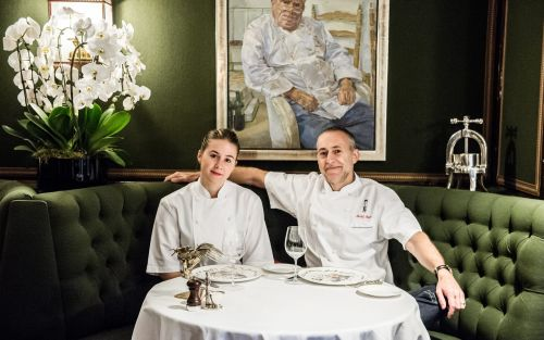 Michel Roux Jr. and his daughter Emily on growing up at the top of the food chain