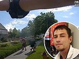 Body camera footage shows the moment police shot dead a man in Utah