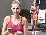 Laura Dundovic looks downcast as she's spotted for first time since her 'split' with Quade Cooper